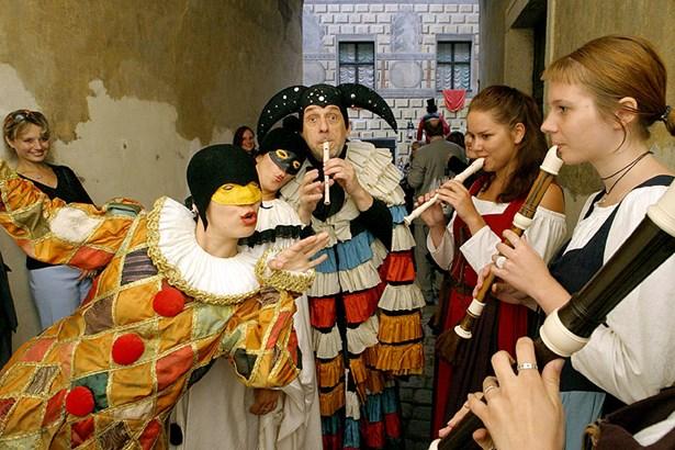 Popis: Festival komorní hudby Český Krumlov