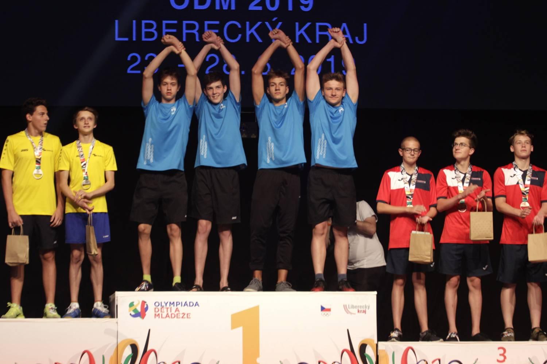 Nejúspěšnějším sportovcem Olympiády mládeže je plavec z Moravskoslezského kraje. Získal osm zlatých medailí