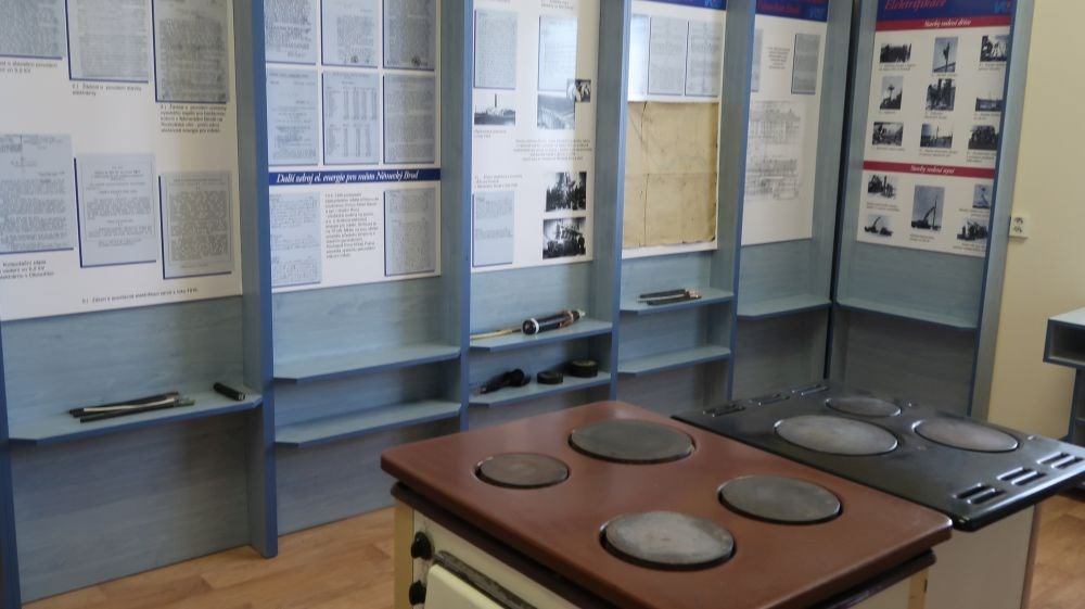 Popis: Muzeum elektroenergetiky v Havlíčkově Brodě.