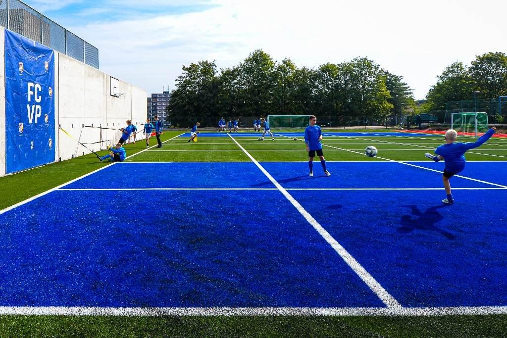 Plzeň má ve Skvrňanech nový sportovní areál pro talentované fotbalisty i žáky