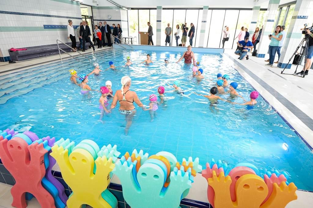 Plzeň dokončila první etapu rekonstrukce bazénu na Slovanech