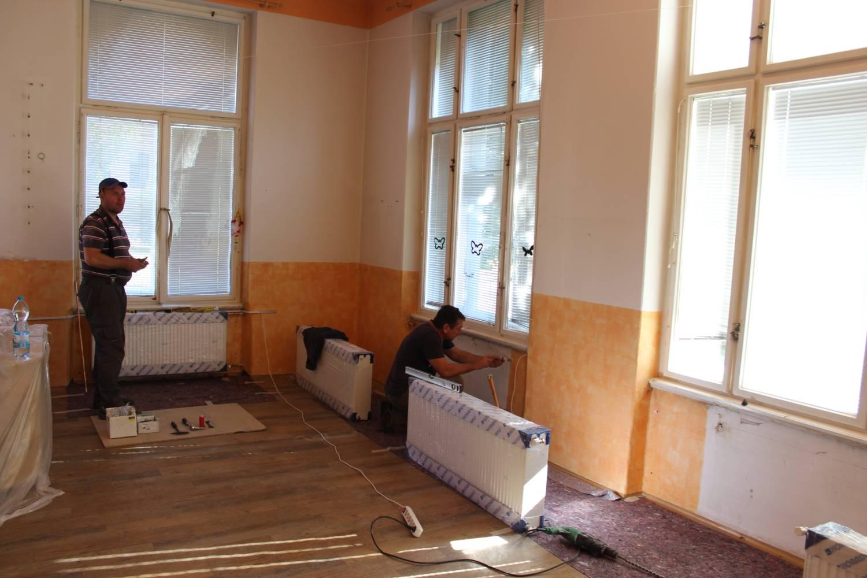 Letní prázdniny umožnily provést rekonstrukce ve školách a školkách