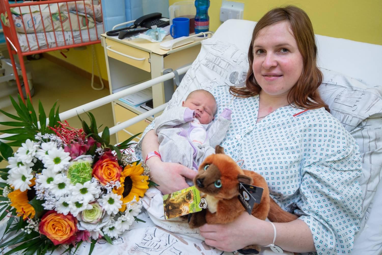 V porodnici Městské nemocnice Ostrava přišlo na svět více chlapců než dívek