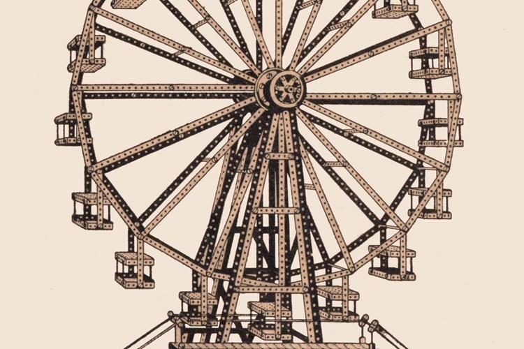 Výstava představuje historii fenomenální hračky. V herně si děti mohou postavit svůj model