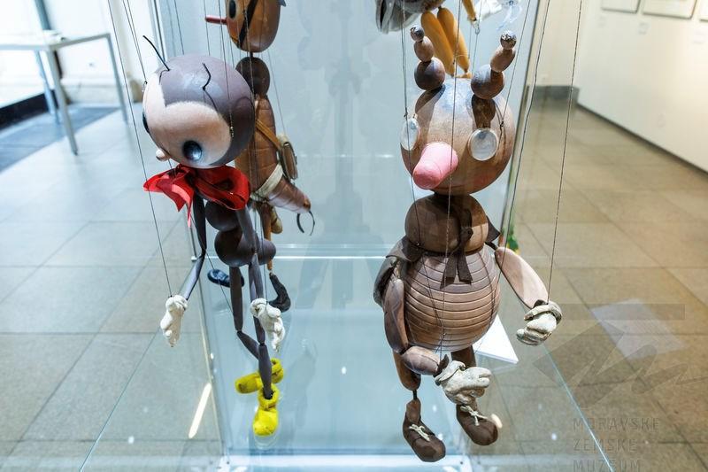 Popis: Výstava Ondřej Sekora: Mravenčí a jiné práce