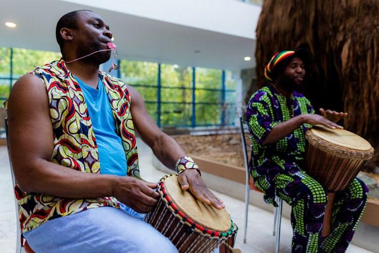 Výstava představuje umělecká díla ilustrující vliv Afriky na české umělce