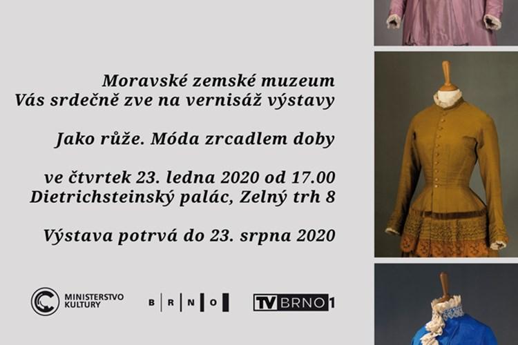 Výstava představuje vývoj dámského oděvu z období mezi lety 1880 až 1925