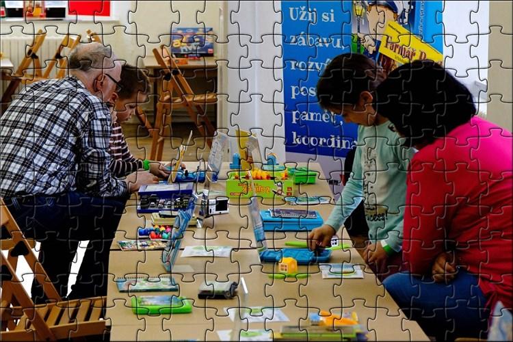 Festival IQ Play umožní vyzkoušet si hry a hračky edukativního charakteru
