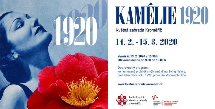 Květná zahrada v Kroměříži hostí 10. ročník výstavy kamélií