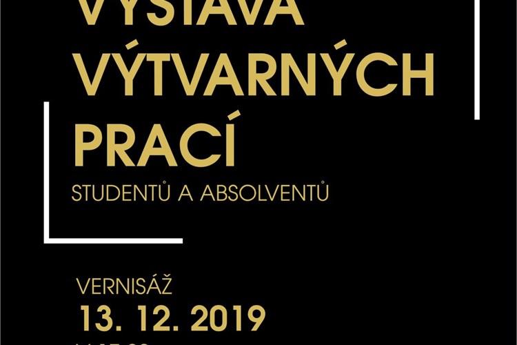 Muzeum vystavuje výtvarné práce studentů a absolventů břeclavského gymnázia