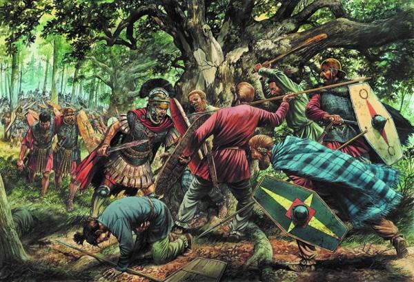 Přijďte se podívat, jak Germáni žili, pracovali, obchodovali, bojovali a umírali ve střetech s mocným římským impériem