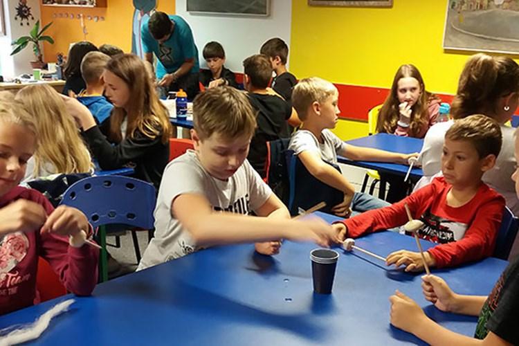 Muzeum v Chebu připravilo pro děti na jarní prázdniny výtvarnou dílnu
