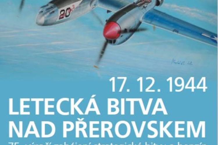 Výstava přibližuje podrobnosti letecké bitvy nad Přerovem z prosince 1944