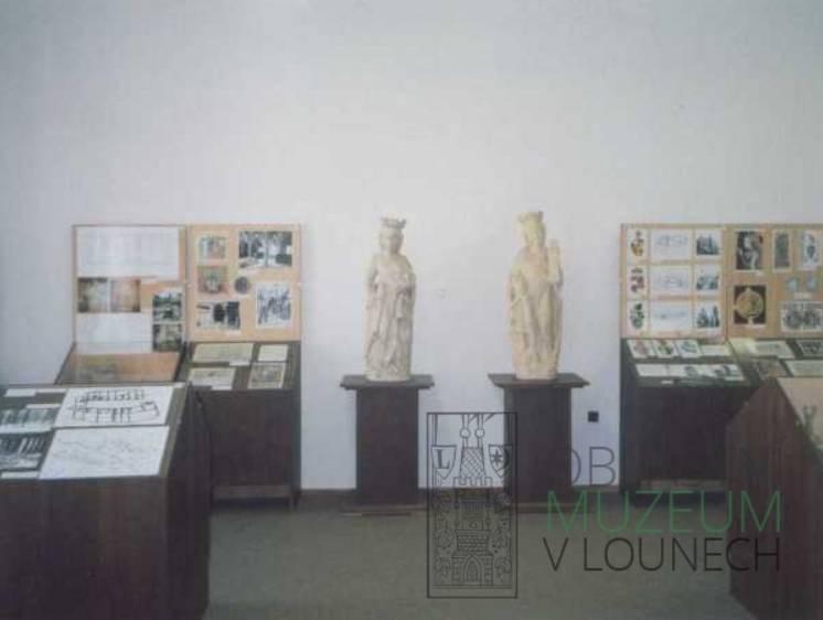 Popis: Historická expozice v Oblastním muzeu v Lounech.