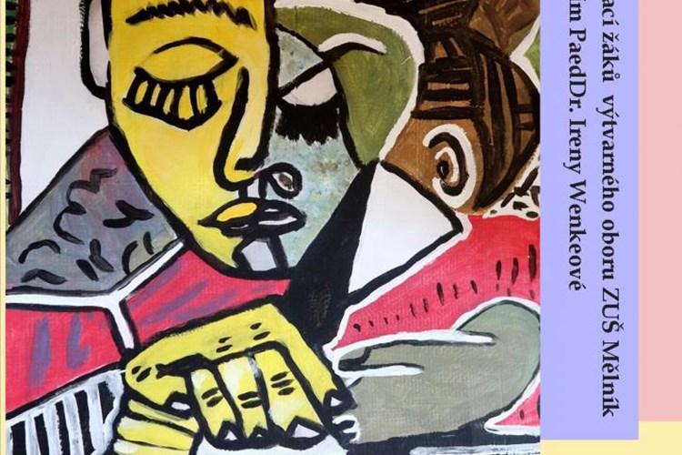 V mělnickém muzeu vystavují své práce žáci výtvarného oboru ZUŠ Mělník