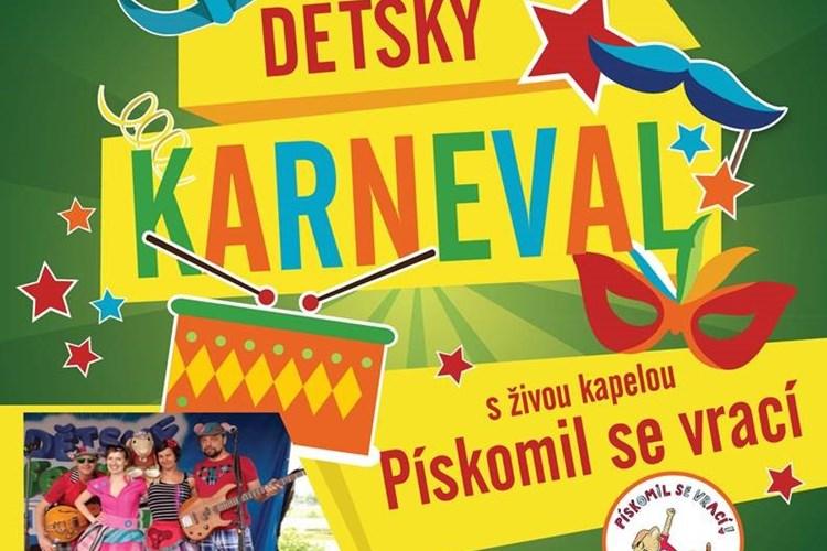 Dětský karneval nabídne živou kapelu Pískomil se vrací, tombolu i občerstvení