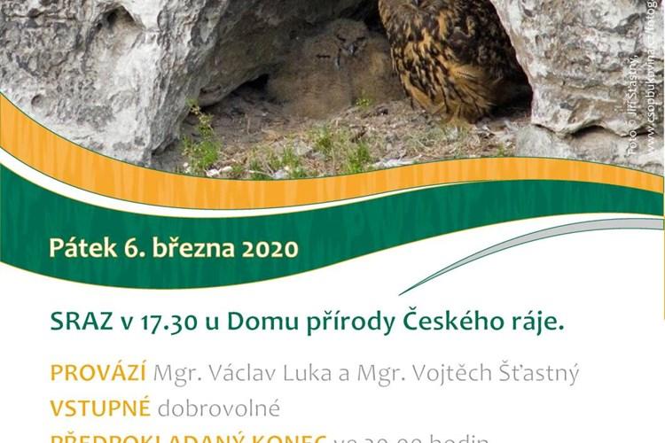 Vydejte se poslouchat houkání sov v údolí Jizery