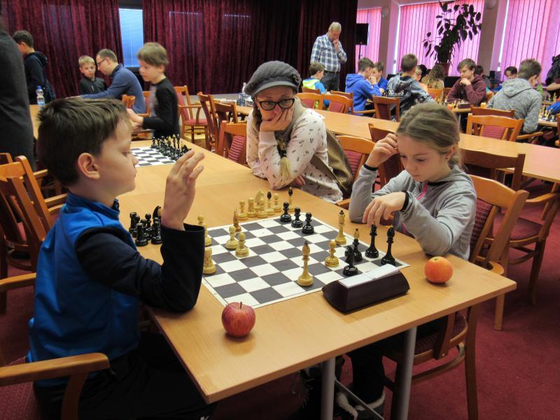 Děti se v sobotu utkaly v šachu