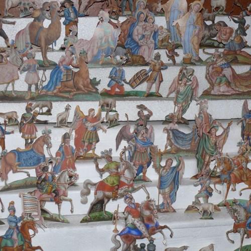 Muzeum papírových betlémů v Zábrdí u Husince