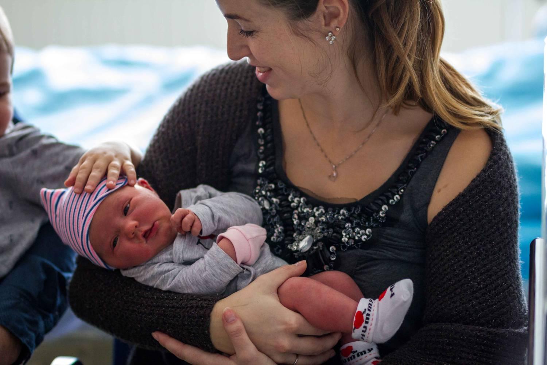 Prvním dítětem roku je Kristýna z Prostějovska