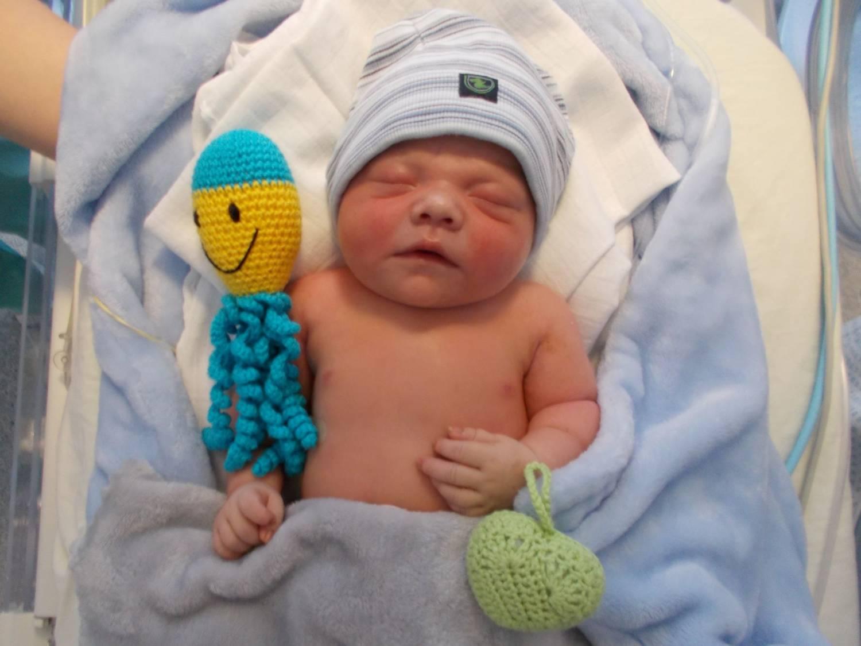 První děti si ve zlínské porodnici vyslechly gratulace - hodně zdraví a také být v životě vícekrát první