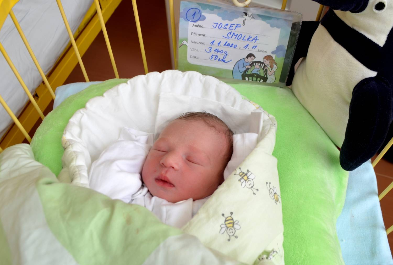 Vedení Slezské nemocnice navštívilo první miminko roku 2020