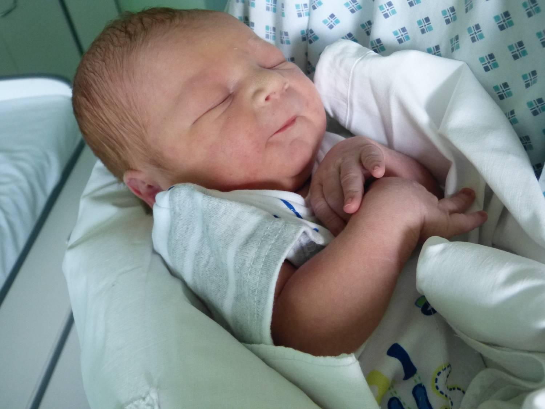 Prvním třineckým miminkem je Bruno