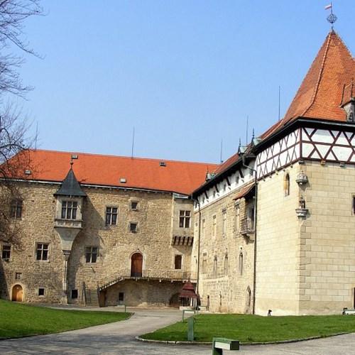 Vodní hrad a Jandovo městské muzeum Budyně nad Ohří