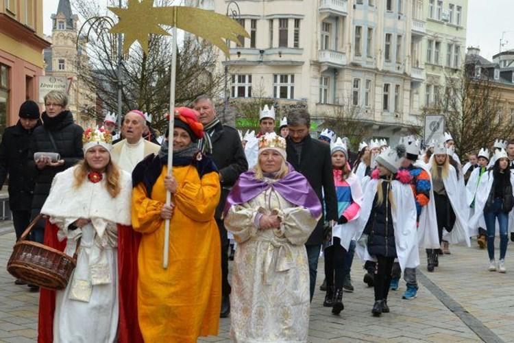269 924 korun je letošní výtěžek Tříkrálové sbírky v Karlových Varech, okolních městech a obcích