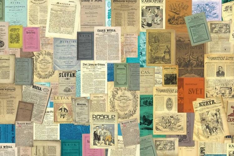 Výstava přibližuje vydání prvních česky psaných novin. Projdete si ji z pohodlí domova
