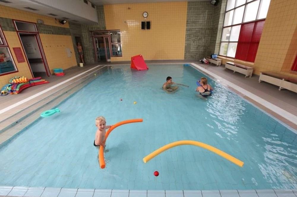 Krytý bazén v Klatovech.