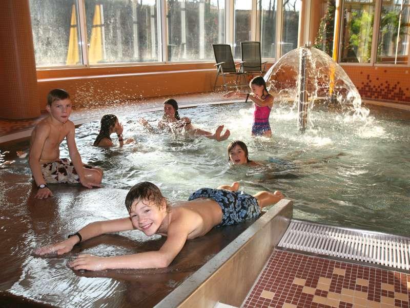 Součástí Krytého bazénu ve Valašském Meziříčí je také dětský bazének.