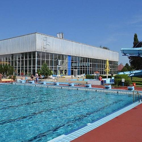 Venkovní bazén Nový Jičín