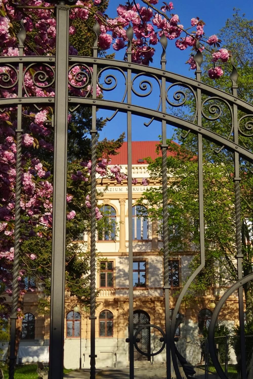 Historická budova bíloveckého gymnázia má novou fasádu