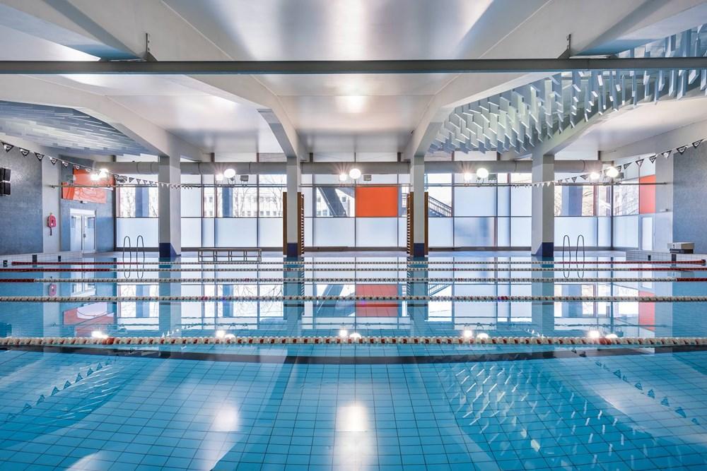 Plavecký bazén Strahov.