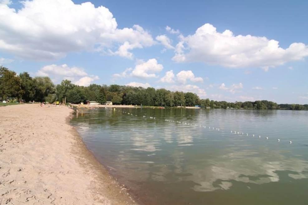 Jezero Poděbrady.