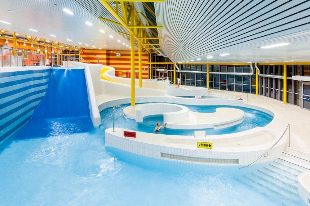 Aquacentrum Šutka patří mezi nejmodernější plavecké areály v Česku.