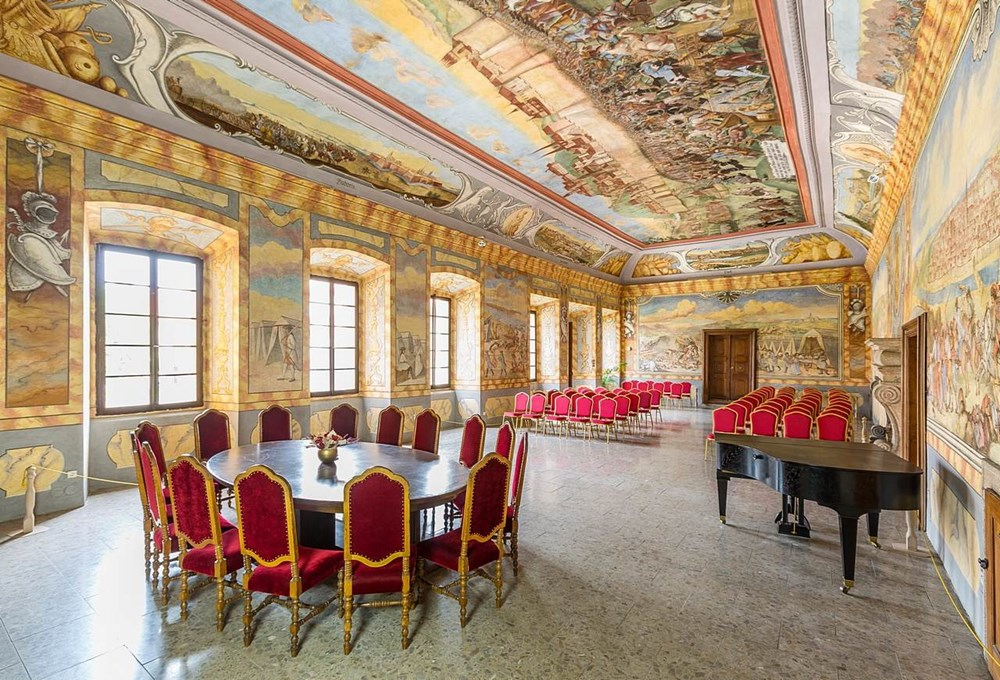 Velký sál zámku Horažďovice.