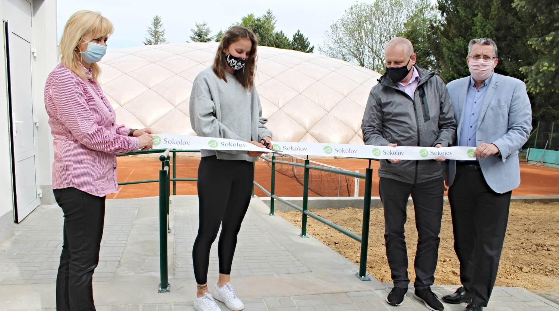 Sokolovský tenis se dočkal moderního zázemí