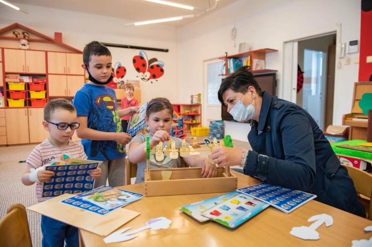 Dětem v kolínských mateřských školách nic nechybí