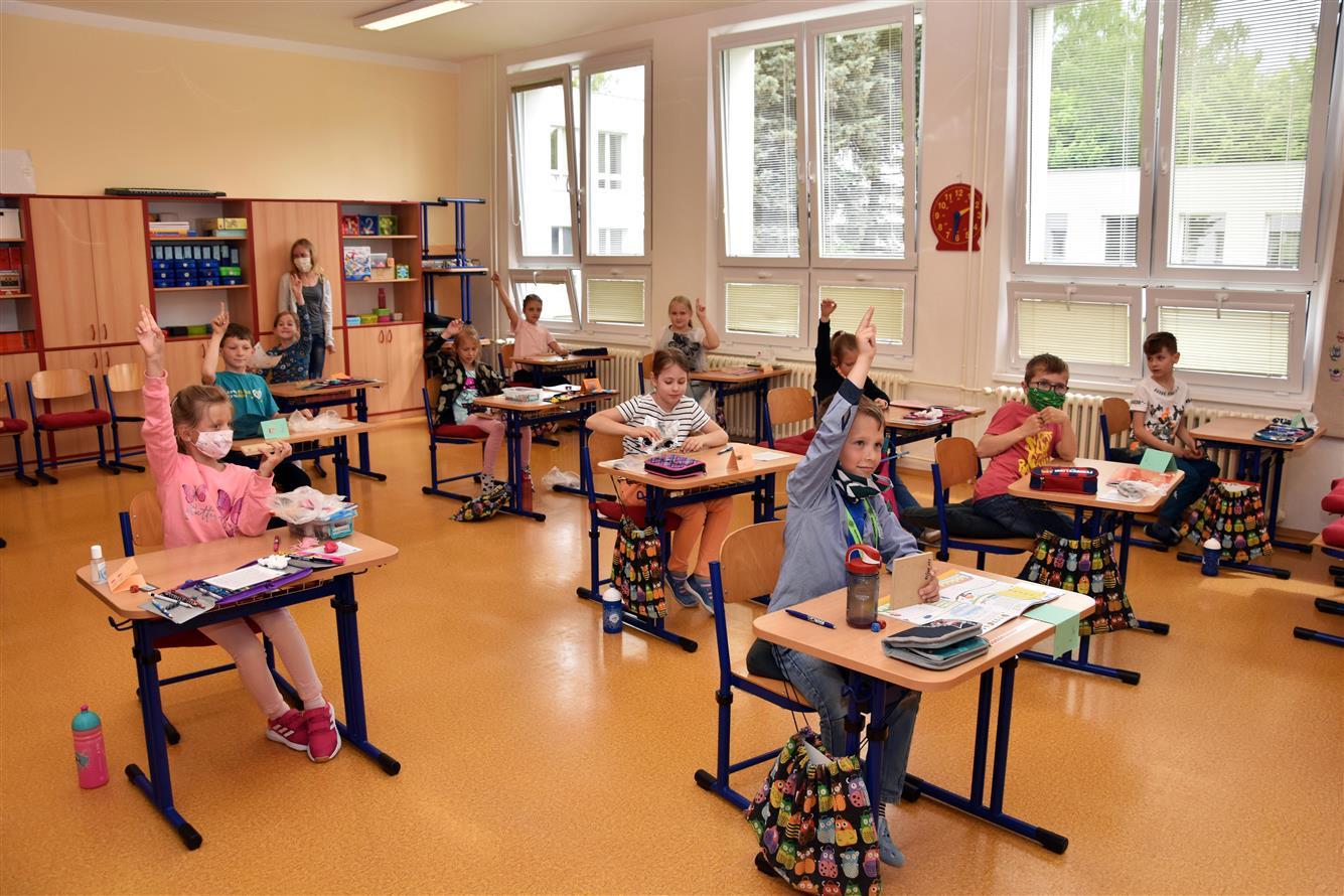 Základní školy ve Valašském Meziříčí přivítaly 669 žáků prvního stupně