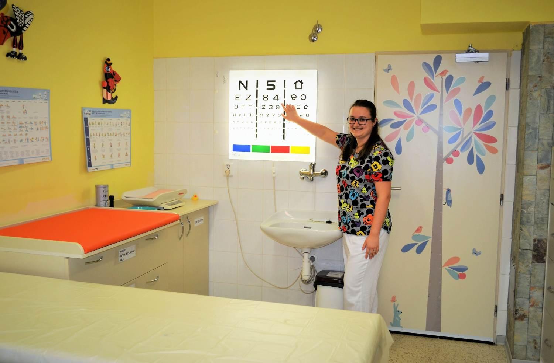 Lékař pro děti a dorost bude ordinovat v nové ambulanci přímo v Nemocnici Šternberk. Výsledky vyšetření se lékař dozví hned