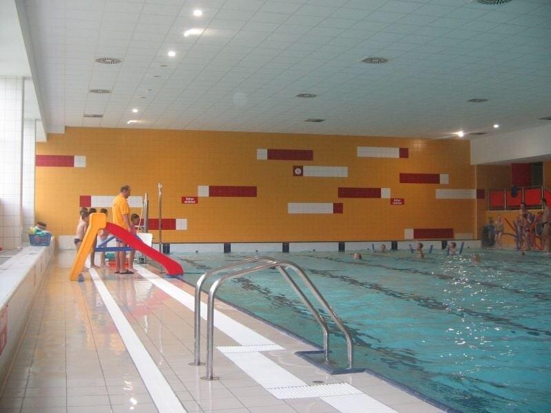 Plavecký bazén Sever v České Lípě.