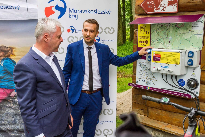 Zapomenutá místa Jeseníků pomůže prozkoumat unikátní síť cyklonabíječek