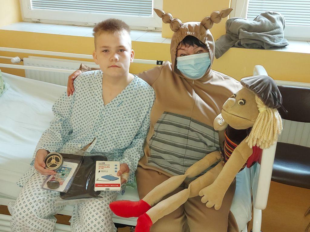 Oslava Dne dětí na dětském oddělení Nemocnice Třinec