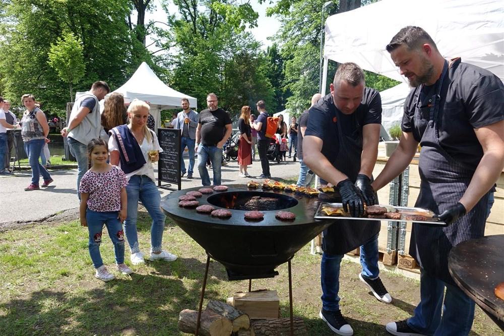 Popis: Garden Food Festival v Rožnově pod Radhoštěm.