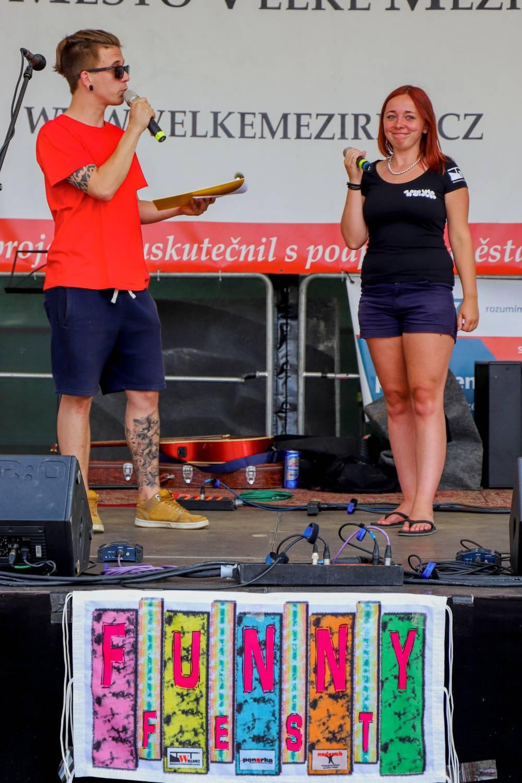 7. srpna rozezní opět Funny Fest náměstí ve Velkém Meziříčí