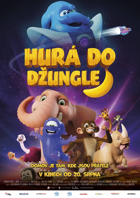 Hurá do džungle. To je okouzlující animované dobrodružství pro děti i rodiče